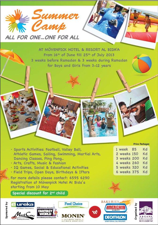 Summer Camp Flyer Template Word Acurnamedia